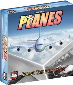 AEG7013 Planes Board Game: Round Trip Expansion published by Alderac Entertainment Group